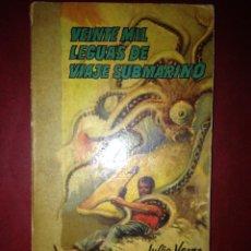 Libros de segunda mano: VEINTE MIL LEGUAS DE VIAJE SUBMARINO, JULIO VERNE, BIBLIOTECA SOPENA. Lote 41557907