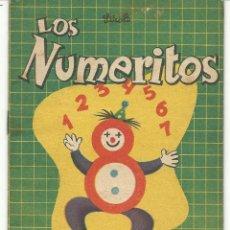 Libros de segunda mano: LOS NUMERITOS.-BIBLIOTECA BOLSILLITOS Nº 23 .- EDITORIAL ABRIL ARGENTINA 1952. Lote 41628435