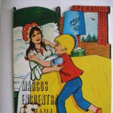 Libros de segunda mano: MARCOS ENCUENTRA A SU MAMA , COLECCIÓN CUENTOS TROQUELADOS VILMAR BARCELONA. Lote 41704775