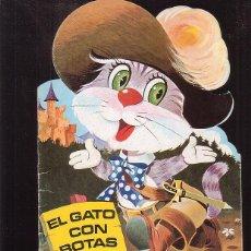 Libros de segunda mano: CUENTO, EL GATO CON BOTAS - FHER 1975, DIBUJOS: BEAUMONT. Lote 41748909