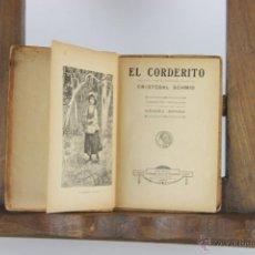 Libros de segunda mano: D-119. EL CORDERITO. CRISTOBAL SCHMID. EDIT. SATURNINO CALLEJA. S/F. . Lote 41845402
