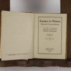 Libros de segunda mano: D-149. CUENTOS DE GRIMM. GRIMM. EDIT. RATTI. 1941. . Lote 42049027