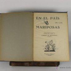 Libros de segunda mano: D-175. EN EL PAIS DE LAS MARAVILLAS. LAMOR. EDIT. MARAVILLA. 1939. . Lote 42068768