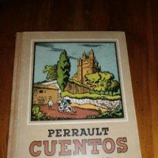 Libros de segunda mano: CUENTOS / CARLOS PERRAULT / VIEJA EDICIÓN / NUEVE CUENTOS / VERSIÓN CECILIO NAVARRO. Lote 40600996
