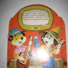 Libros de segunda mano: CUENTO TROQUELADO - LOS DOS MUSICOS - RAYLU - DETERIORADO. Lote 42174497