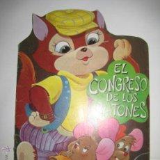 Libros de segunda mano: CUENTO TROQUELADO - EL CONGRESO DE LOS RATONES - SERIE FABULAS - Nº 2. Lote 42174581