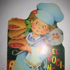 Libros de segunda mano: CUENTO TROQUELADO - EL COCINERO - SERIE MAGDA - ARTES GRAFICAS COBAS - Nº 11, AÑO 1978. Lote 42174781