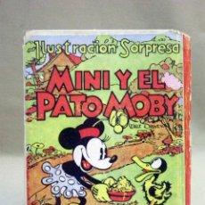 Libros de segunda mano: CUENTO, LIBRO SORPRESA, MINI Y EL PATO MOBY, WALT DISNEY, MOLINO. Lote 42470917