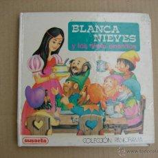 Libros de segunda mano: BLANCA NIEVES Y LOS SIETE ENANITOS. COLECCION PANORAMA. SUSAETA. Lote 42672929