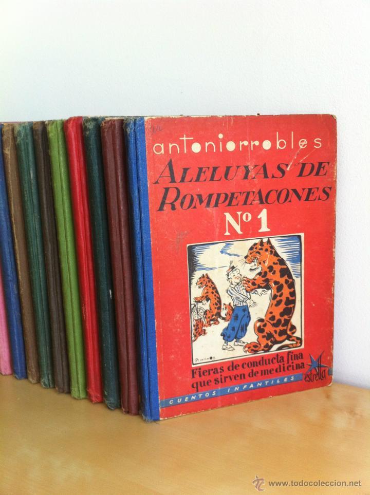 Libros de segunda mano: ALELUYAS DE ROMPETACONES. 1939. INCLUYE CUENTO INÉDITO, CORRECIONES Y DEDICATORIA DE ANTONIORROBLES. - Foto 6 - 42799560