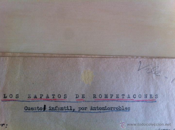 Libros de segunda mano: ALELUYAS DE ROMPETACONES. 1939. INCLUYE CUENTO INÉDITO, CORRECIONES Y DEDICATORIA DE ANTONIORROBLES. - Foto 10 - 42799560