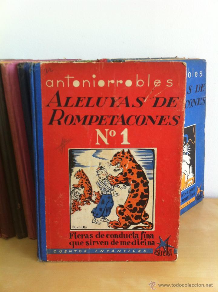 Libros de segunda mano: ALELUYAS DE ROMPETACONES. 1939. INCLUYE CUENTO INÉDITO, CORRECIONES Y DEDICATORIA DE ANTONIORROBLES. - Foto 15 - 42799560