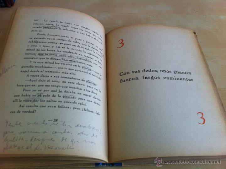 Libros de segunda mano: ALELUYAS DE ROMPETACONES. 1939. INCLUYE CUENTO INÉDITO, CORRECIONES Y DEDICATORIA DE ANTONIORROBLES. - Foto 27 - 42799560