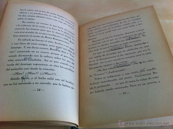 Libros de segunda mano: ALELUYAS DE ROMPETACONES. 1939. INCLUYE CUENTO INÉDITO, CORRECIONES Y DEDICATORIA DE ANTONIORROBLES. - Foto 47 - 42799560