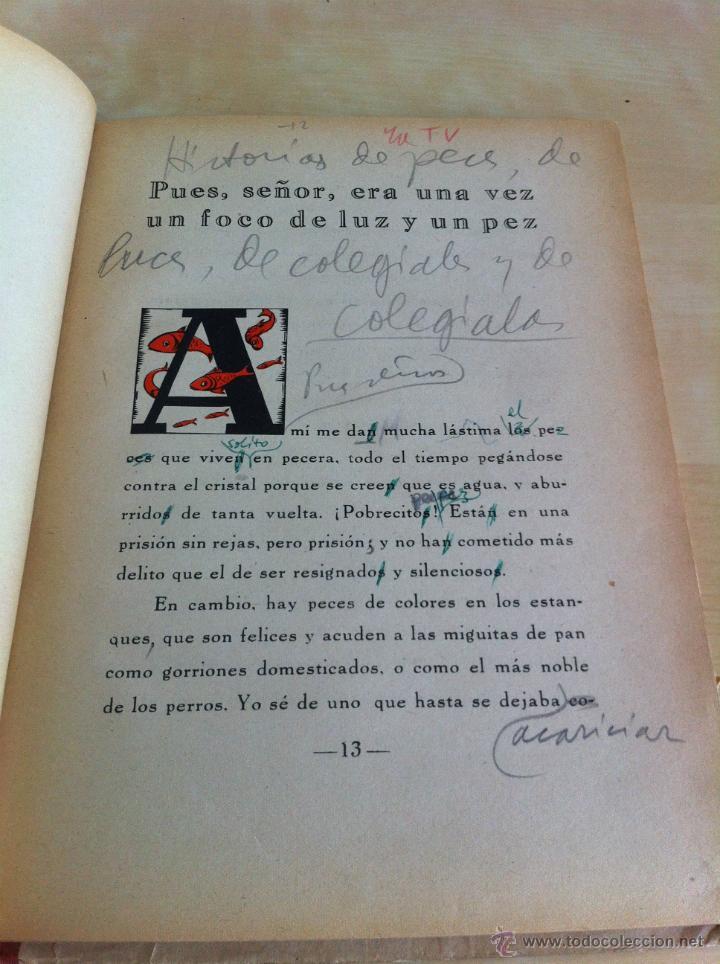 Libros de segunda mano: ALELUYAS DE ROMPETACONES. 1939. INCLUYE CUENTO INÉDITO, CORRECIONES Y DEDICATORIA DE ANTONIORROBLES. - Foto 60 - 42799560