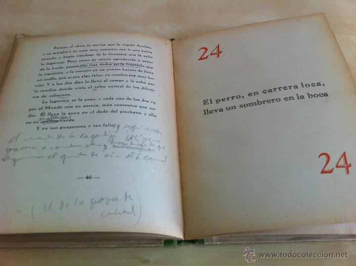 Libros de segunda mano: ALELUYAS DE ROMPETACONES. 1939. INCLUYE CUENTO INÉDITO, CORRECIONES Y DEDICATORIA DE ANTONIORROBLES. - Foto 74 - 42799560