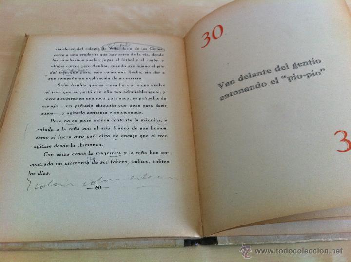 Libros de segunda mano: ALELUYAS DE ROMPETACONES. 1939. INCLUYE CUENTO INÉDITO, CORRECIONES Y DEDICATORIA DE ANTONIORROBLES. - Foto 85 - 42799560