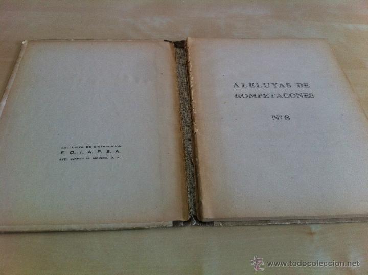 Libros de segunda mano: ALELUYAS DE ROMPETACONES. 1939. INCLUYE CUENTO INÉDITO, CORRECIONES Y DEDICATORIA DE ANTONIORROBLES. - Foto 105 - 42799560