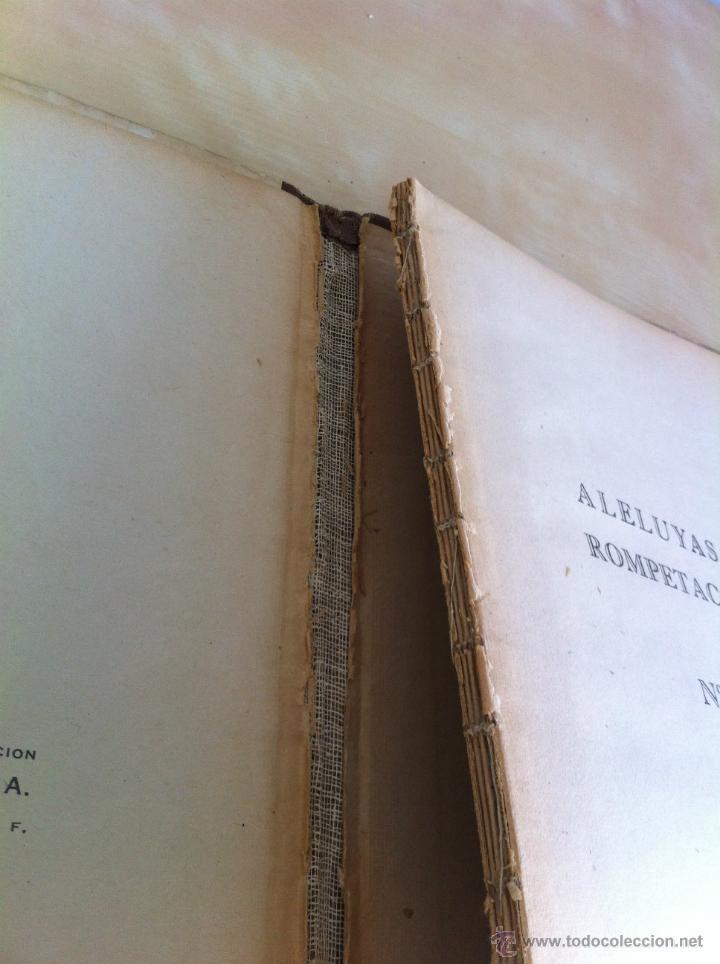 Libros de segunda mano: ALELUYAS DE ROMPETACONES. 1939. INCLUYE CUENTO INÉDITO, CORRECIONES Y DEDICATORIA DE ANTONIORROBLES. - Foto 107 - 42799560