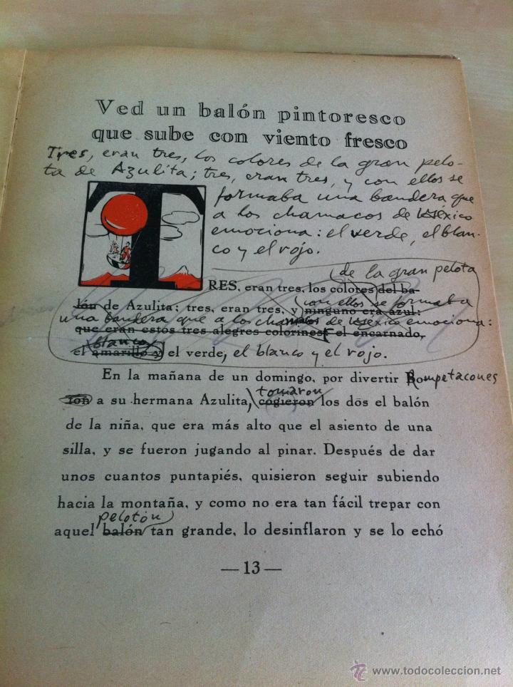 Libros de segunda mano: ALELUYAS DE ROMPETACONES. 1939. INCLUYE CUENTO INÉDITO, CORRECIONES Y DEDICATORIA DE ANTONIORROBLES. - Foto 110 - 42799560
