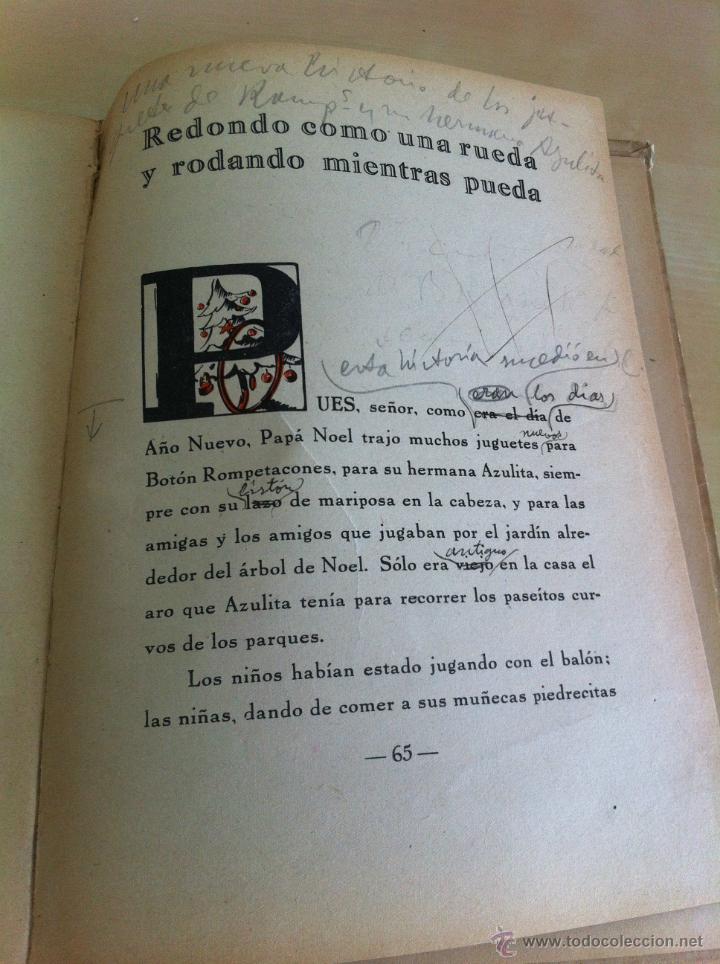 Libros de segunda mano: ALELUYAS DE ROMPETACONES. 1939. INCLUYE CUENTO INÉDITO, CORRECIONES Y DEDICATORIA DE ANTONIORROBLES. - Foto 115 - 42799560