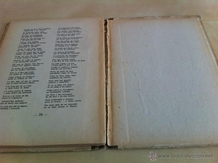 Libros de segunda mano: ALELUYAS DE ROMPETACONES. 1939. INCLUYE CUENTO INÉDITO, CORRECIONES Y DEDICATORIA DE ANTONIORROBLES. - Foto 117 - 42799560