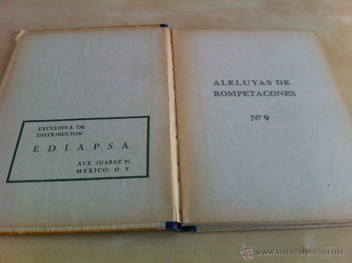 Libros de segunda mano: ALELUYAS DE ROMPETACONES. 1939. INCLUYE CUENTO INÉDITO, CORRECIONES Y DEDICATORIA DE ANTONIORROBLES. - Foto 122 - 42799560