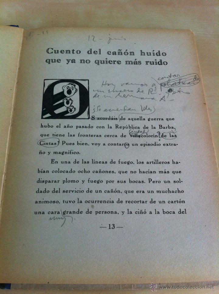 Libros de segunda mano: ALELUYAS DE ROMPETACONES. 1939. INCLUYE CUENTO INÉDITO, CORRECIONES Y DEDICATORIA DE ANTONIORROBLES. - Foto 125 - 42799560