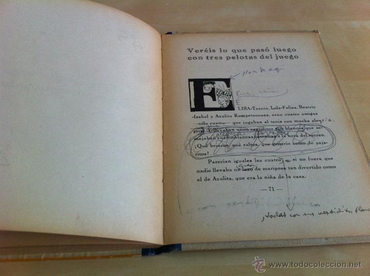 Libros de segunda mano: ALELUYAS DE ROMPETACONES. 1939. INCLUYE CUENTO INÉDITO, CORRECIONES Y DEDICATORIA DE ANTONIORROBLES. - Foto 131 - 42799560