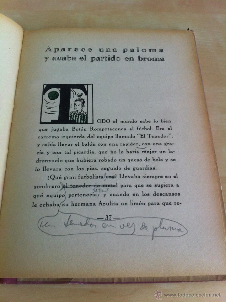 Libros de segunda mano: ALELUYAS DE ROMPETACONES. 1939. INCLUYE CUENTO INÉDITO, CORRECIONES Y DEDICATORIA DE ANTONIORROBLES. - Foto 142 - 42799560