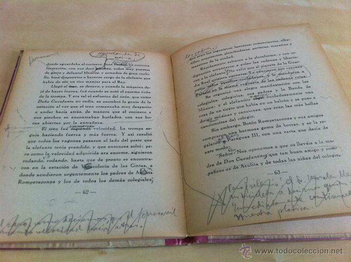 Libros de segunda mano: ALELUYAS DE ROMPETACONES. 1939. INCLUYE CUENTO INÉDITO, CORRECIONES Y DEDICATORIA DE ANTONIORROBLES. - Foto 145 - 42799560