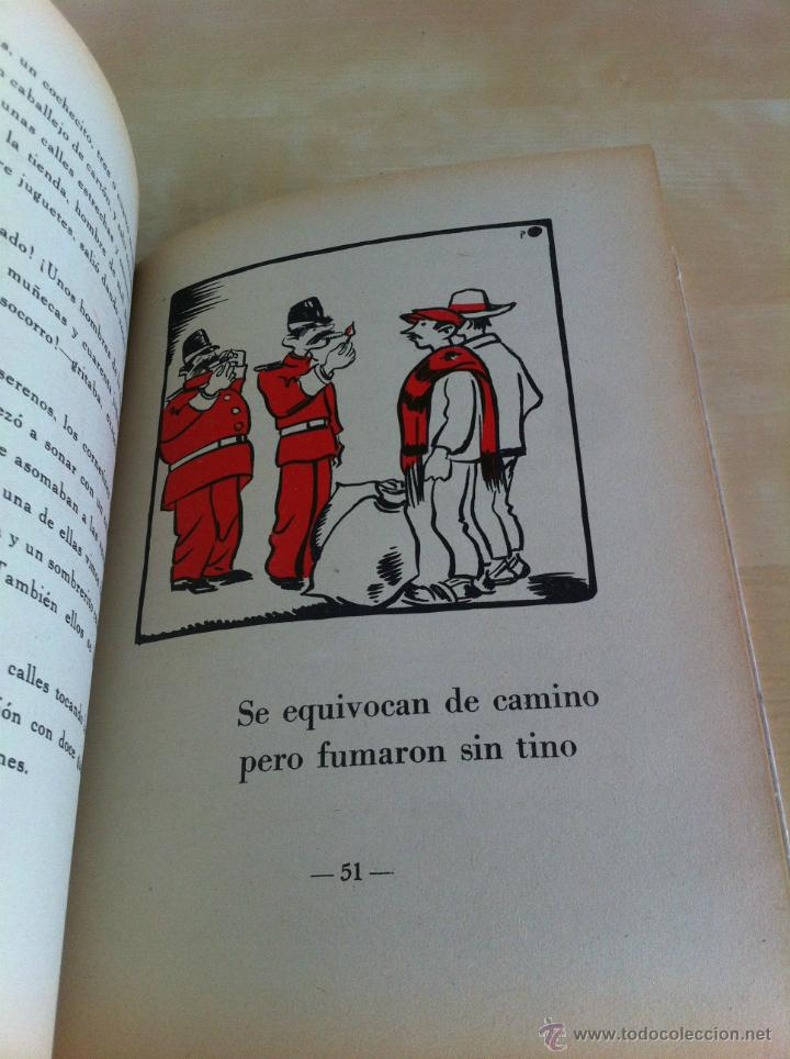 Libros de segunda mano: ALELUYAS DE ROMPETACONES. 1939. INCLUYE CUENTO INÉDITO, CORRECIONES Y DEDICATORIA DE ANTONIORROBLES. - Foto 155 - 42799560