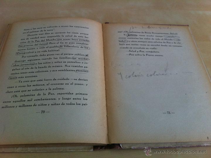 Libros de segunda mano: ALELUYAS DE ROMPETACONES. 1939. INCLUYE CUENTO INÉDITO, CORRECIONES Y DEDICATORIA DE ANTONIORROBLES. - Foto 171 - 42799560