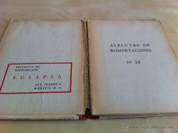 Libros de segunda mano: ALELUYAS DE ROMPETACONES. 1939. INCLUYE CUENTO INÉDITO, CORRECIONES Y DEDICATORIA DE ANTONIORROBLES. - Foto 176 - 42799560