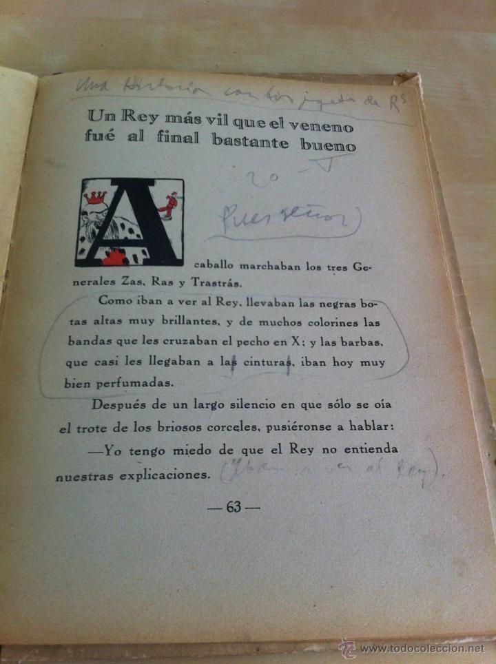Libros de segunda mano: ALELUYAS DE ROMPETACONES. 1939. INCLUYE CUENTO INÉDITO, CORRECIONES Y DEDICATORIA DE ANTONIORROBLES. - Foto 183 - 42799560