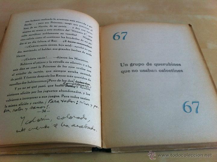 Libros de segunda mano: ALELUYAS DE ROMPETACONES. 1939. INCLUYE CUENTO INÉDITO, CORRECIONES Y DEDICATORIA DE ANTONIORROBLES. - Foto 202 - 42799560