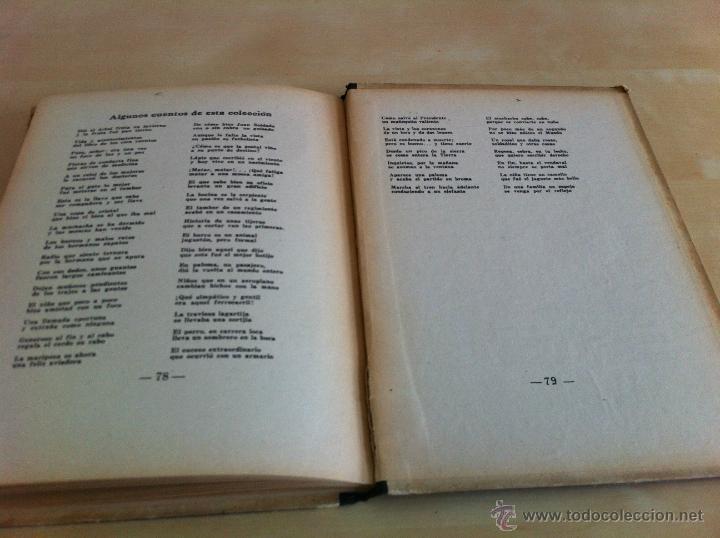 Libros de segunda mano: ALELUYAS DE ROMPETACONES. 1939. INCLUYE CUENTO INÉDITO, CORRECIONES Y DEDICATORIA DE ANTONIORROBLES. - Foto 204 - 42799560