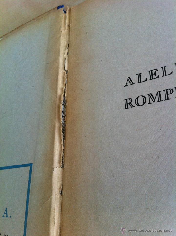 Libros de segunda mano: ALELUYAS DE ROMPETACONES. 1939. INCLUYE CUENTO INÉDITO, CORRECIONES Y DEDICATORIA DE ANTONIORROBLES. - Foto 210 - 42799560
