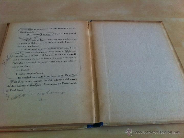 Libros de segunda mano: ALELUYAS DE ROMPETACONES. 1939. INCLUYE CUENTO INÉDITO, CORRECIONES Y DEDICATORIA DE ANTONIORROBLES. - Foto 220 - 42799560