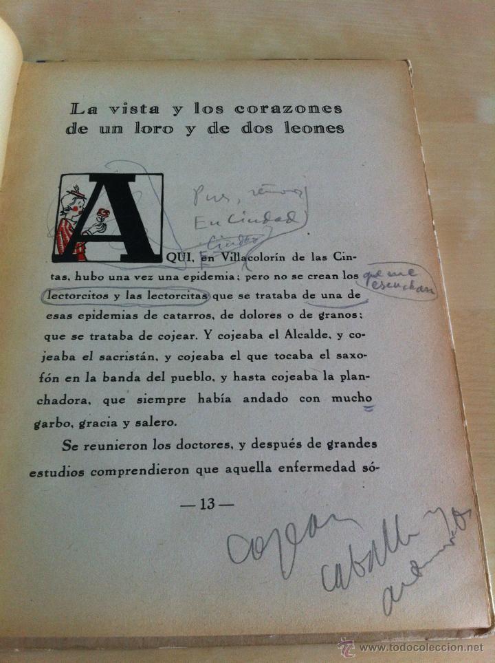 Libros de segunda mano: ALELUYAS DE ROMPETACONES. 1939. INCLUYE CUENTO INÉDITO, CORRECIONES Y DEDICATORIA DE ANTONIORROBLES. - Foto 250 - 42799560