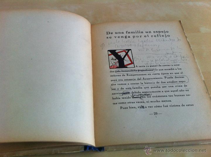 Libros de segunda mano: ALELUYAS DE ROMPETACONES. 1939. INCLUYE CUENTO INÉDITO, CORRECIONES Y DEDICATORIA DE ANTONIORROBLES. - Foto 253 - 42799560