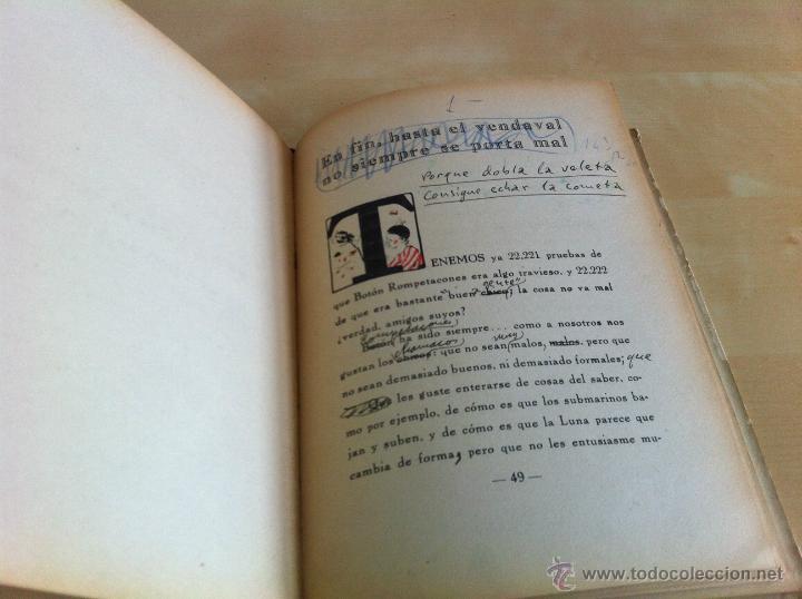 Libros de segunda mano: ALELUYAS DE ROMPETACONES. 1939. INCLUYE CUENTO INÉDITO, CORRECIONES Y DEDICATORIA DE ANTONIORROBLES. - Foto 255 - 42799560