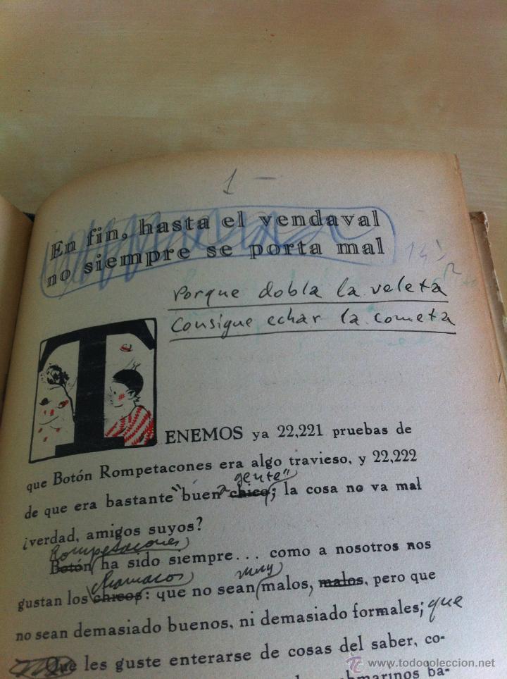 Libros de segunda mano: ALELUYAS DE ROMPETACONES. 1939. INCLUYE CUENTO INÉDITO, CORRECIONES Y DEDICATORIA DE ANTONIORROBLES. - Foto 256 - 42799560