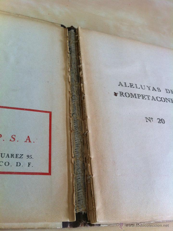 Libros de segunda mano: ALELUYAS DE ROMPETACONES. 1939. INCLUYE CUENTO INÉDITO, CORRECIONES Y DEDICATORIA DE ANTONIORROBLES. - Foto 265 - 42799560