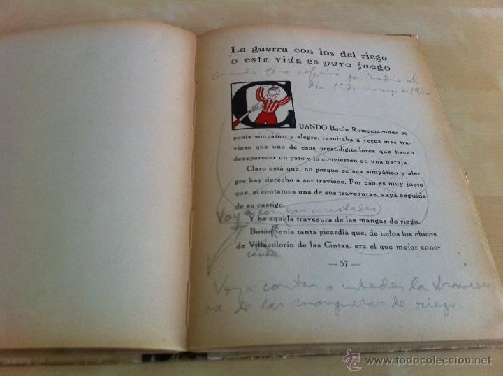 Libros de segunda mano: ALELUYAS DE ROMPETACONES. 1939. INCLUYE CUENTO INÉDITO, CORRECIONES Y DEDICATORIA DE ANTONIORROBLES. - Foto 270 - 42799560