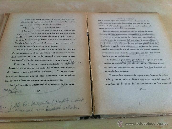 Libros de segunda mano: ALELUYAS DE ROMPETACONES. 1939. INCLUYE CUENTO INÉDITO, CORRECIONES Y DEDICATORIA DE ANTONIORROBLES. - Foto 271 - 42799560