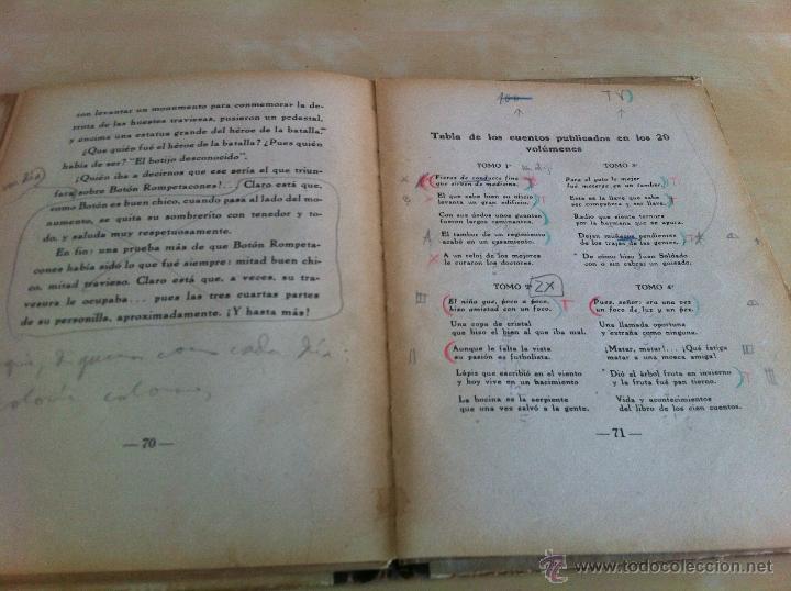 Libros de segunda mano: ALELUYAS DE ROMPETACONES. 1939. INCLUYE CUENTO INÉDITO, CORRECIONES Y DEDICATORIA DE ANTONIORROBLES. - Foto 272 - 42799560