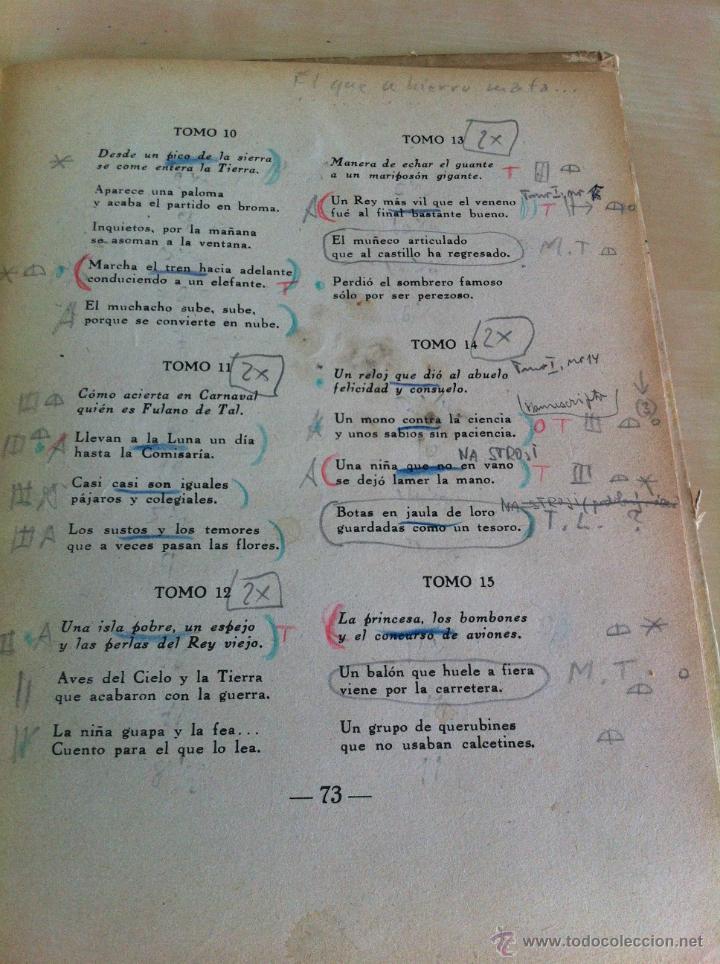 Libros de segunda mano: ALELUYAS DE ROMPETACONES. 1939. INCLUYE CUENTO INÉDITO, CORRECIONES Y DEDICATORIA DE ANTONIORROBLES. - Foto 275 - 42799560