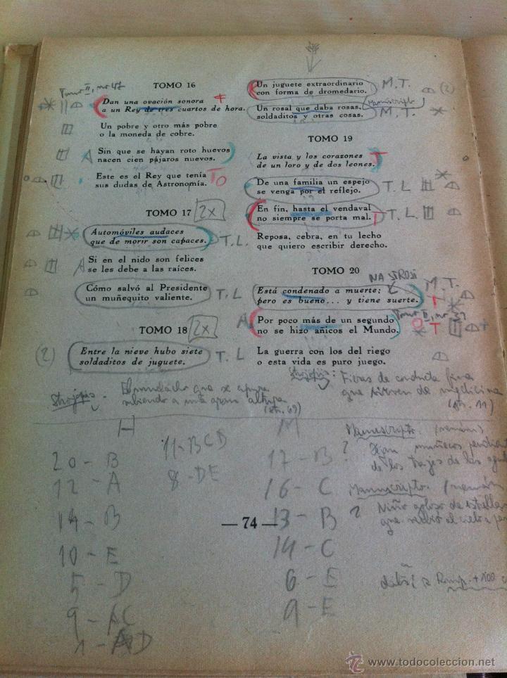 Libros de segunda mano: ALELUYAS DE ROMPETACONES. 1939. INCLUYE CUENTO INÉDITO, CORRECIONES Y DEDICATORIA DE ANTONIORROBLES. - Foto 276 - 42799560