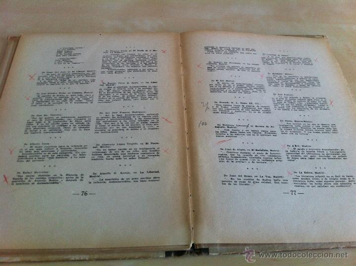 Libros de segunda mano: ALELUYAS DE ROMPETACONES. 1939. INCLUYE CUENTO INÉDITO, CORRECIONES Y DEDICATORIA DE ANTONIORROBLES. - Foto 278 - 42799560